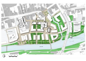 Proposed Masterplan for Abbey Creative Quarter, Kilkenny