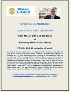 Spring Luncheon March 2014