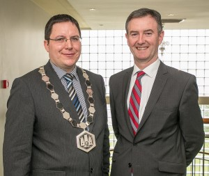 Martin Costello, President and John Hurley CEO, Kilkenny Chamber